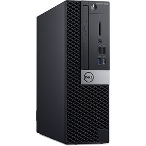Sistem Desktop PC DELL OptiPlex 7070 SFF, Intel® Core™ i9-9900 pana la 4.9GHz, 32GB, SSD 512GB, Intel® UHD Graphics 630, Linux