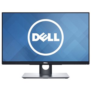 "Monitor LED IPS DELL P2418HT, 23.8"" Touch, Full HD, negru"