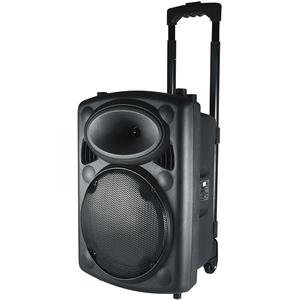 Boxa portabila activa SAL PAB 25A, Bluetooth, AUX IN, SD, USB, negru