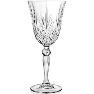 Set pahare vin alb RCR CRISTALLERIA Melodia, 6 piese, 0.21l, luxion