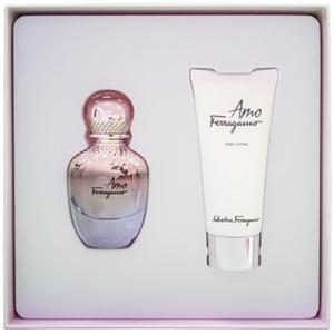 Set cadou SALVATORE FERRAGAMO Amo: Apa de parfum, 30ml + Lotiune de corp, 30ml