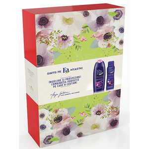 Set cadou FA Luxury Moments: Gel de dus, 250ml + Deodorant spray, 150ml