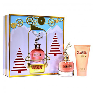 Set cadou JEAN PAUL GAULTIER Scandal Christmas Edition: Apa de parfum, 50ml + Lotiune de corp, 75ml