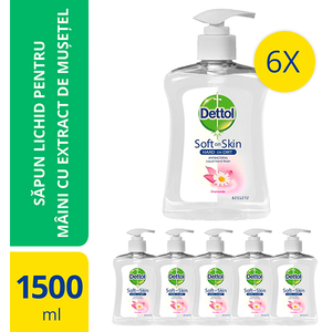 Sapun DETTOL Nourish, 6 x 250ml