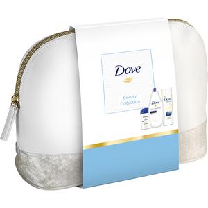 Set DOVE Beauty Collection Original: Gel de dus 250ml + Lapte de corp 250ml + Deodorant stick, 40ml
