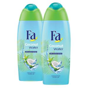 Pachet promo FA: Gel de dus Coconut Water, 2 x 400ml