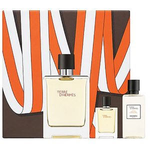 Set cadou HERMES Terre D'Hermes: Apa de toaleta, 100ml + Apa de toaleta, 5ml + Lotiune after shave, 40ml