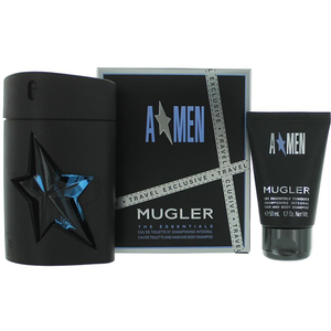 Set cadou THIERRY MUGLER Men Amen With Gomme: Apa de toaleta, 100ml + Gel de dus, 50ml