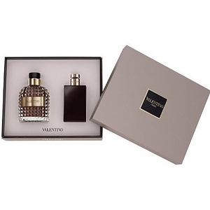 Set cadou VALENTINO: Apa de toaleta, 100ml + After shave balsam, 100ml