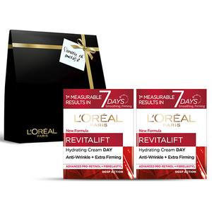 Pachet promo L'OREAL PARIS Revitalift Laser X3: Crema de zi, 2 x 50ml