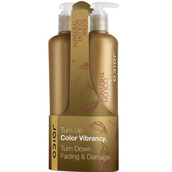 Pachet promo JOICO K-Pak Color Therapy: Sampon, 500ml + Balsam de par, 500ml