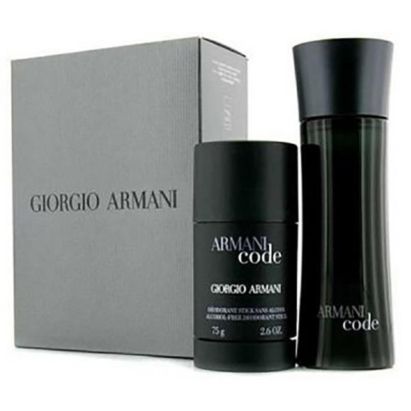 Set cadou GIORGIO ARMANI Men Code: Apa de toaleta, 75ml + Deodorant stick, 75ml