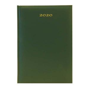 Agenda datata ARTIBEST 2020, A5, hartie offset alba, verde