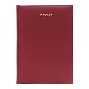 Agenda datata ARTIBEST 2020, A5, hartie offset alba, bordo