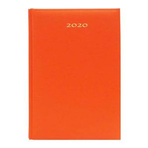 Agenda datata ARTIBEST 2020, A5, hartie offset alba, portocaliu