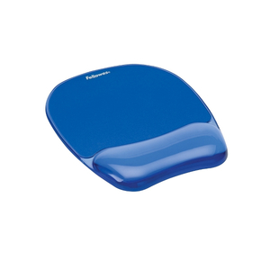 Mouse Pad FELLOWES Crystal FW002008, albastru