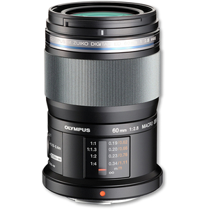 Obiectiv OLYMPUS EM-M6028 M.ZUIKO DIGITAL ED 60mm 1:2.8, negru