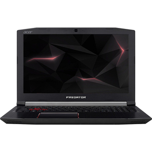 "Laptop ACER Predator Helios 300 PH315-51-75YQ, Intel® Core™ i7-8750H pana la 4.1GHz, 15.6"" Full HD, 8GB, HDD 1TB + SSD 256GB, NVIDIA GeForce GTX 1050 Ti 4GB, Linux"