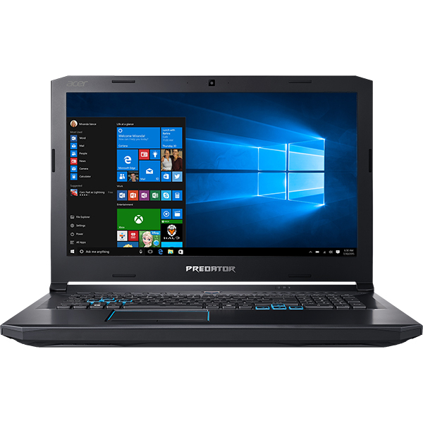 "Laptop ACER Predator Helios 500 PH517-51-91G0, Intel® Core™ i9-8950HK pana la 4.8GHz, 17.3"" 4K UHD, 32GB, SSD 2 x 512GB, NVIDIA® GeForce® GTX 1070 8GB, Windows 10 Home"