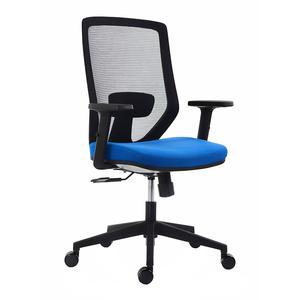 Scaun operational RTC Zen, textil, negru , albastru