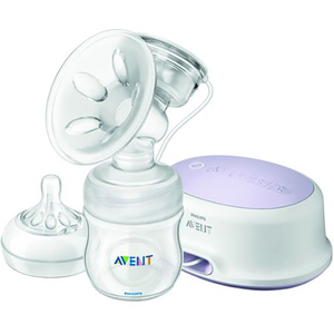 Pompa de san electrica PHILIPS AVENT SCF332/31, mov - transparent
