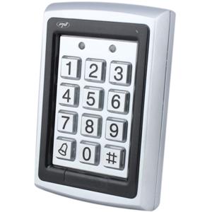 Tastatura control acces PNI DK101, stand alone, cititor de card, gri-negru