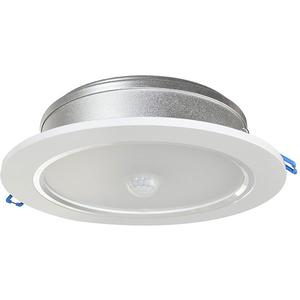 Plafoniera LED cu senzor de miscare SilverCloud D-Light CL06, 24W, alb