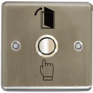 Intrerupator de acces SILVERCLOUD PB202, incastrabil , gri metalic