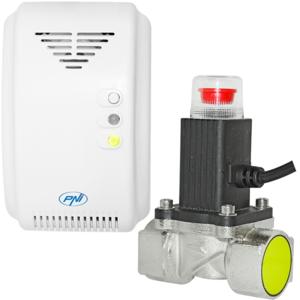 Kit senzor gaz PNI SH200 si electrovalva 3/4 Inch