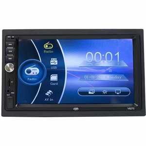 Multimedia player auto MP3 / MP4 / MP5 PNI V6270, Touch, Bluetooth, USB, negru