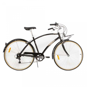 Bicicleta de oras PEGAS Popular Alu 19 7S, Negru Stelar