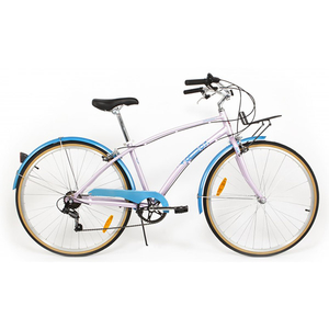 Bicicleta de oras PEGAS Popular Alu 16 7S, Roz Bujor