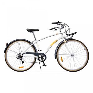 Bicicleta de oras PEGAS Popular Alu 16 7S, Alb Perlat