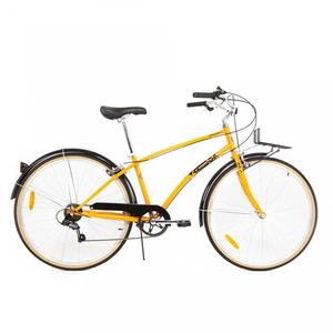 Bicicleta de oras PEGAS Popular Otel 16 7S, Portocaliu Neon