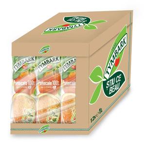 Bautura racoritoare necarbogazoasa TYMBARK 100% Portocale bax 1L x 12 cutii