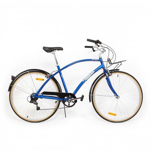 Bicicleta de oras PEGAS Popular Alu 19 7S, Albastru