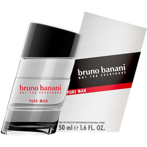 Apa de toaleta BRUNO BANANI PURE MAN, Barbati, 50 ml