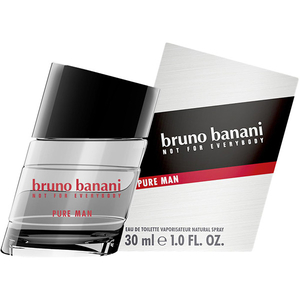 Apa de toaleta BRUNO BANANI PURE MAN, Barbati, 30 ml