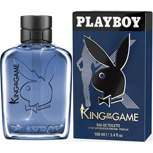 Apa de toaleta PLAYBOY KING OF THE GAME, Barbati, 100 ml