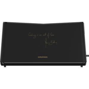 Prajitor de paine GRUNDIG Massimo Bottura TA8680MBC, 900W, negru
