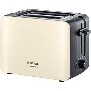 Prajitor de paine BOSCH ComfortLine TAT6A117, 1090W, crem