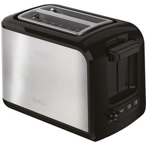 Prajitor de paine TEFAL TT410D38, 850W, negru - inox