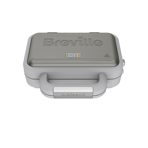 Prajitor de sandwich-uri BREVILLE Deep Fill DuraCeramic VST070X-01, 850W, gri