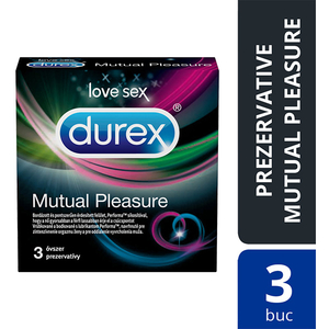 Prezervative DUREX Mutual Pleasure, 3buc