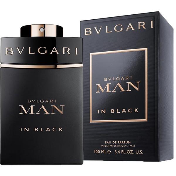 Apa De Parfum Bvlgari Man In Black Barbati 100ml