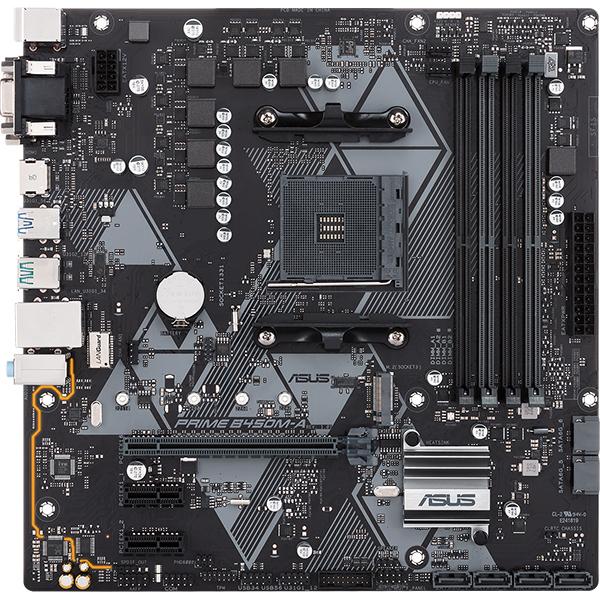 Placa de baza ASUS PRIME B450M-A, socket AM4, 4xDDR4, 6xSATA3, micro-ATX