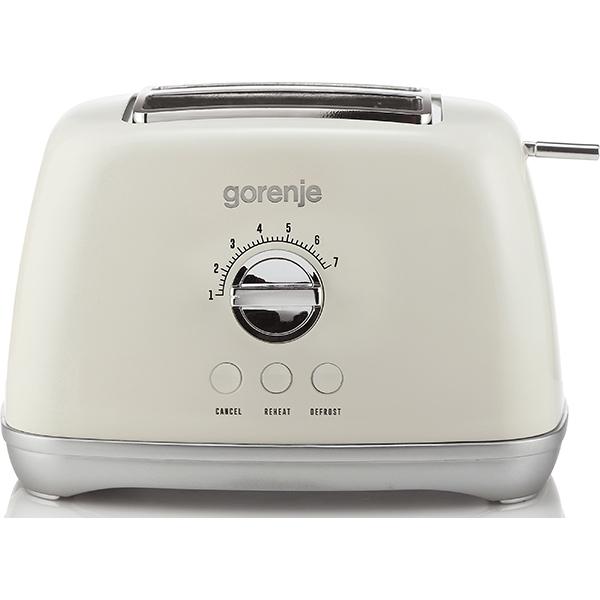 Prajitor de paine GORENJE T900RL, 1000W, bej