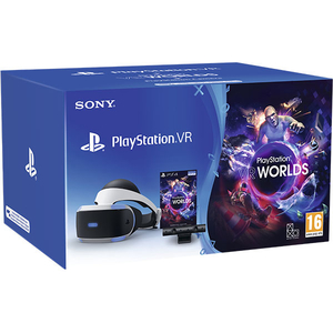 Pachet PlayStation VR + Camera PS + voucher VR Worlds
