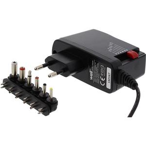 Incarcator universal WELL PSUP-SMP-1000MA/6T-WL, 1A, 6 mufe, negru