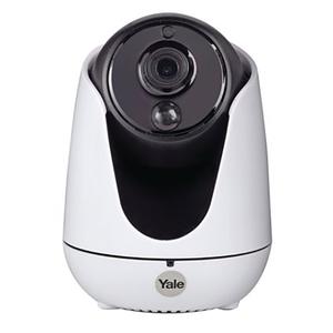 Camera IP Wireless YALE WIPC-303W, HD 720p, IR, Night Vision, alb-negru